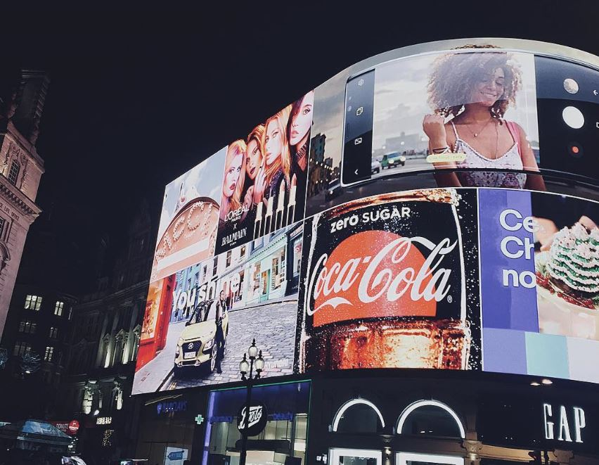 French advertising London